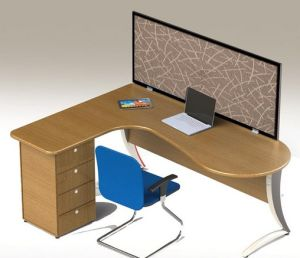 Customized Office Furniture Soundproof Desk Screen pictures & photos