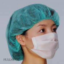 10g Blue PP Spunbond Nonwoven Fabric Use for Medical Mask and Bouffant Cap pictures & photos