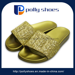 New Arrival Men Gold Slipper Import Slippers China pictures & photos