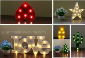 Plastic Marquee Letters Holiday Light 26 Alphabat LED Letters Light pictures & photos