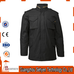 Nylon/Cotton Military M65 Army Black American Military Jacket pictures & photos