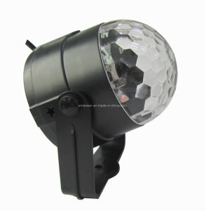 New Design 5 Colors LED Disco Light Crystal Magic Ball Light Party DJ Holiday Projector pictures & photos