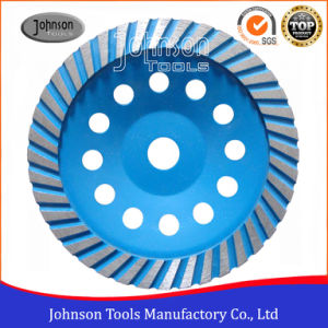 OD180mm Diamond Turbo Cup Wheel for Stone pictures & photos