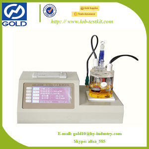 Automatic Transformer Oil Moisture Titration Kit (GD-2122C) pictures & photos