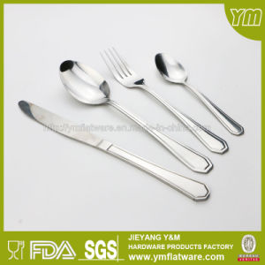 65PCS Stainless Steel Flatware Set in Color Box pictures & photos