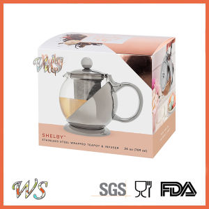 Wschmy045 Silver Color Tea Pot Copper Plating Tea Pot Tea & Coffee Tool pictures & photos