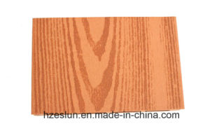 Wood Grain Solid WPC Decking with High Quality pictures & photos