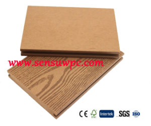 Solid WPC Decking with Wood Plastic Composite Material From China Factory pictures & photos