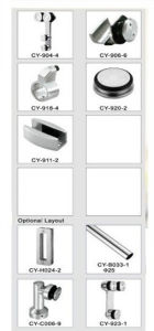 Sliding Door system Frameless Shower Door Hardware pictures & photos