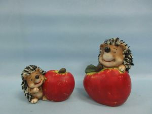 Hedgehog Shape Ceramic Crafts Furniture Decoration pictures & photos