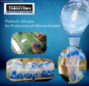 Platinum Silicone for Producing Silicone Shoe Insoles pictures & photos