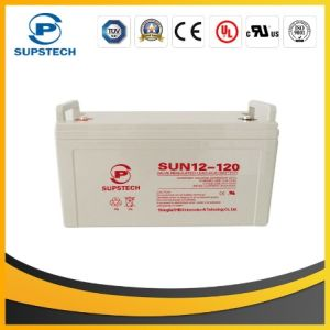 12V 120ah Maintenance Free Sealed Lead Acid Battery for Solar Power System pictures & photos