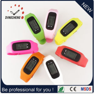 Stock Silicone Fashion Unisex Sports Pemometer Watch as Smart Bracelet pictures & photos