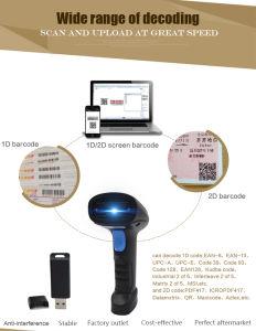 Wireless Handheld Qr Code Supermarket Scanner Yk-Wm3 Wireless pictures & photos