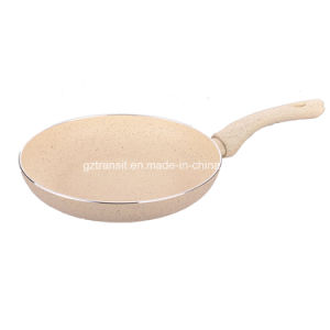 New Marble Coating Pressed Aluminum Frying Pans