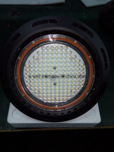 China Industrial UFO Highbay Lighting Lamp IP65 Waterproof 130lm/W Dimmable 240W 200W 160W 150W 100W LED High Bay Light pictures & photos