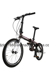 Travel Folding Bike/20′′ Aluminum Alloy Bicycle/V Brake Bike Bicycle pictures & photos