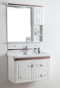 2017 New Weidansi PVC Bathroom Cabinet with Ceramic Basin Wdso18