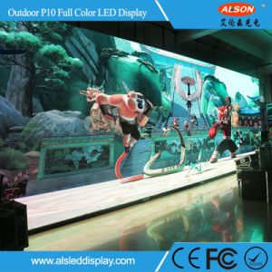 HD Pitch P10mm Outdoor LED Full Color Big Screen for Stage Performance pictures & photos