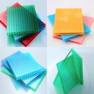 4X8 Clear Polycarbonate PC Plastic Sheets for One Stop Gardens Greenhouse Sale pictures & photos