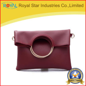 Shoulder Bags Women Hoop PU Leather Handbag Crossbody Messenger Bag