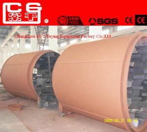 China Leading Manufacturer Soybean Dregs Sawdust Rotary Drum Dryer for Sale pictures & photos