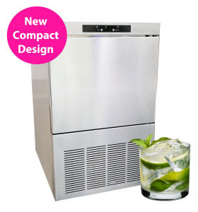 Top Quality Ice Cube Machines with Heavy Duty Stainless Steel Design (20kg) pictures & photos