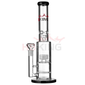 High Quality Colorful Honeycomb Percolator Recycler Hand Bowls Glass Smoking Water Pipe pictures & photos