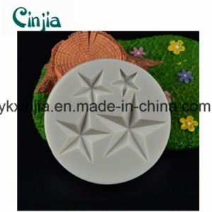 High Quality Star Turn Sugar Silicone Mold pictures & photos