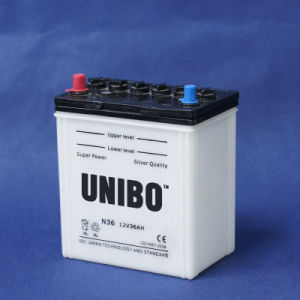 Auto Battery High Quality Dry Charged Battery JIS N36 12V36ah pictures & photos