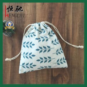 High Quality Cotton Canvas Drawstring Storage Jewellery Bag pictures & photos