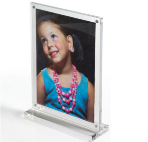 Customized Shapes Acrylic Magnetic Photo Block Yageli Made pictures & photos