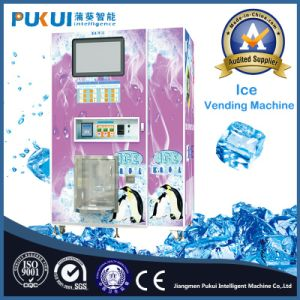 Wholesale Outdoor Self-Service Bagged Ice Vending Machine pictures & photos