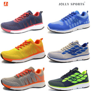 Men Women Flyknit Sneaker Footwear Sports Running Shoes pictures & photos