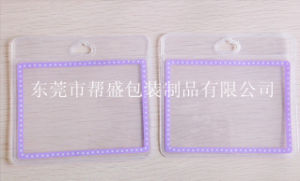 Good Quality Recylable Clear EVA Plastic Badge Holders (YJ-C051) pictures & photos