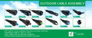 LC, Sc, FC, St, Mu, MTRJ, Mu, MPO, Odva, Fullaxs, Fiber Optic Patchcord Jumper, Fiber Optic Cable, Fiber Optic Patch Cord pictures & photos