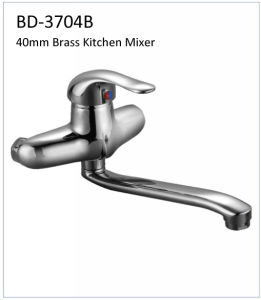 Bd3704b 40mm Brass Single Lever Kitchen Faucet pictures & photos