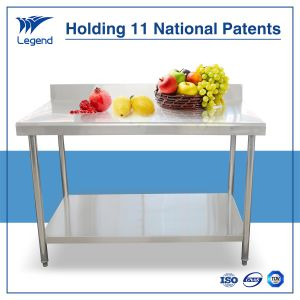 Stainless Steel Kitchen Assembly Work Table with Heavier Load Bearing pictures & photos