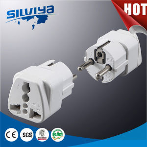 New Design European Schuko 2p+E Plug pictures & photos