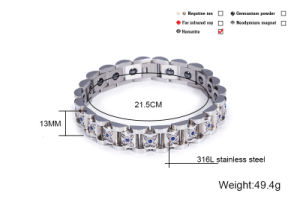 Fashion Energy Bracelet for Lady with Multicolor Crystal pictures & photos