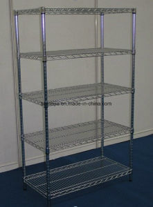 Hot Sale Metal Chrome Wire Flowers Shelf for  Kuwait pictures & photos