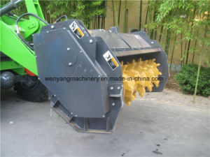 2ton Small Wheel Loader with Forest Mulcher Attachment pictures & photos