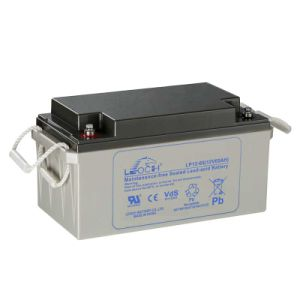 Leoch 12V 65ah Reliable Quality AGM Solar Battery pictures & photos