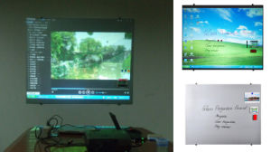 Frosted Tempered Glass Projection Screen with Magnetic Function pictures & photos