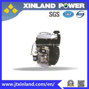 Horizontal Air Cooled 4-Stroke Diesel Engine L292f (E) for Machinery pictures & photos