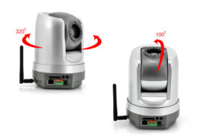 1/3 Sony CCD WiFi Wireless PTZ IP Camera (IP-106HW) pictures & photos