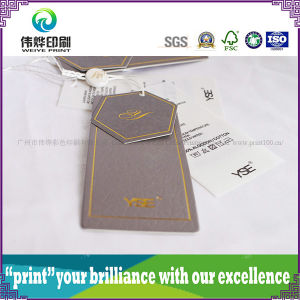 Different Shape Paper Printing Hang Tag (Rope) pictures & photos
