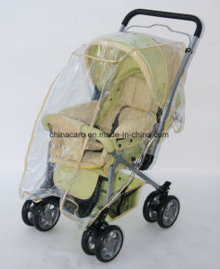 European Fold Baby Pram with Foot Cover and Mosquito Net pictures & photos