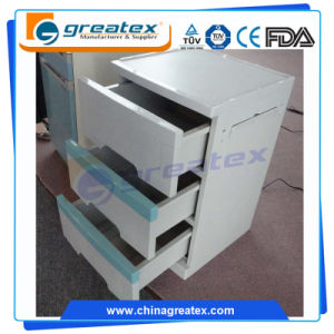 Hospital ABS Bed Side Cabinet Medical Beside Locker with Drawer (GT-TA100) pictures & photos