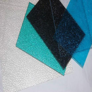 Polycarbonate Embossed Sheet Colorful Polycarbonate Roofing pictures & photos